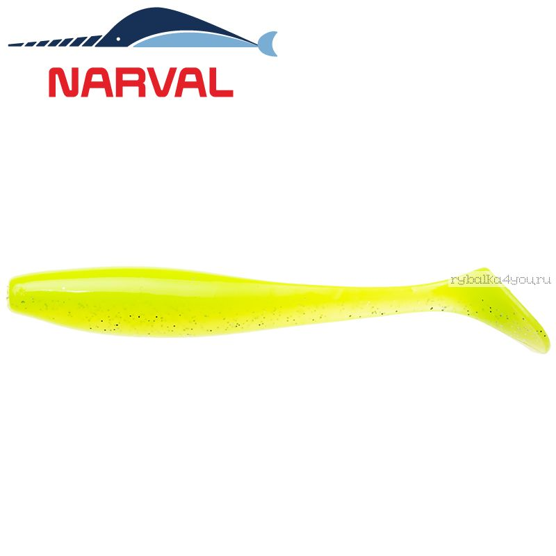 Купить Мягкие приманки Narval Choppy Tail 10sm #004 Lime Chartreuse (5 шт в уп)