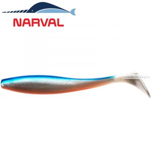 Мягкие приманки Narval Choppy Tail 8sm #001 Blue Back Shiner (6 шт в уп)