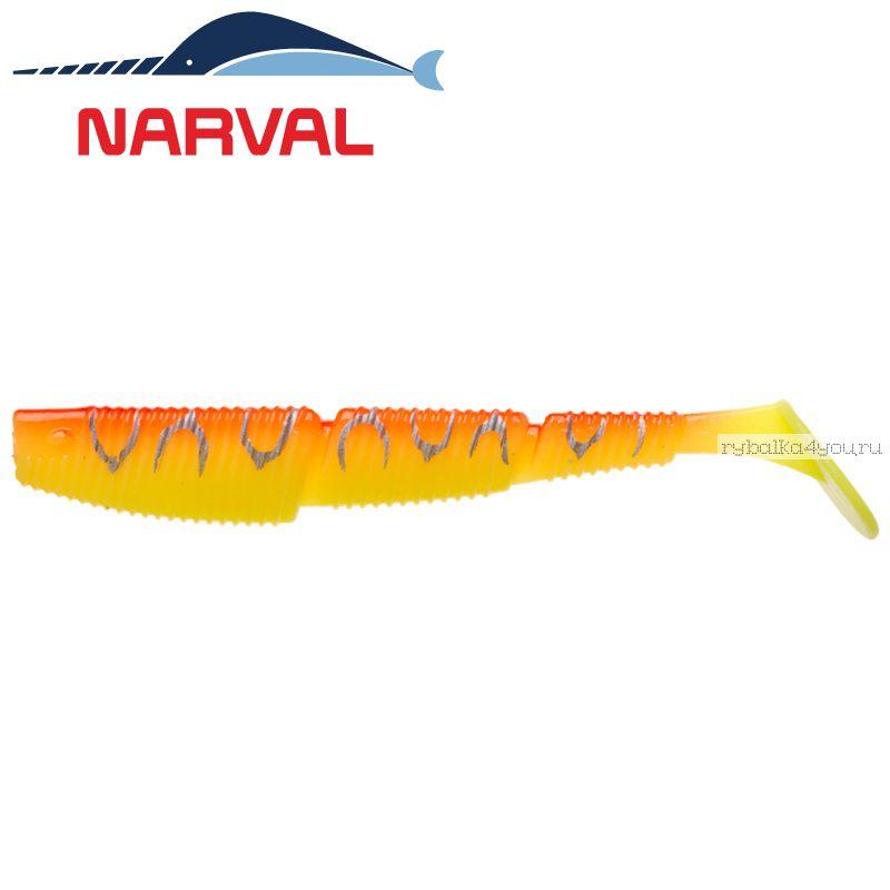 Купить Мягкие приманки Narval Complex Shad 10sm #009 Sunset Tiger (4 шт в уп)
