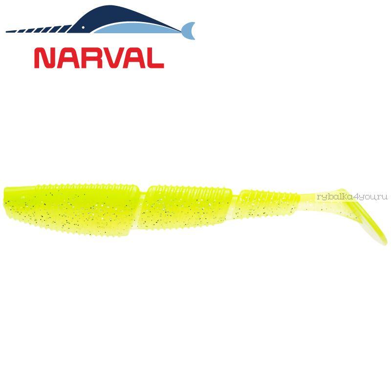 Купить Мягкие приманки Narval Complex Shad 10sm #004 Lime Chartreuse (4 шт в уп)