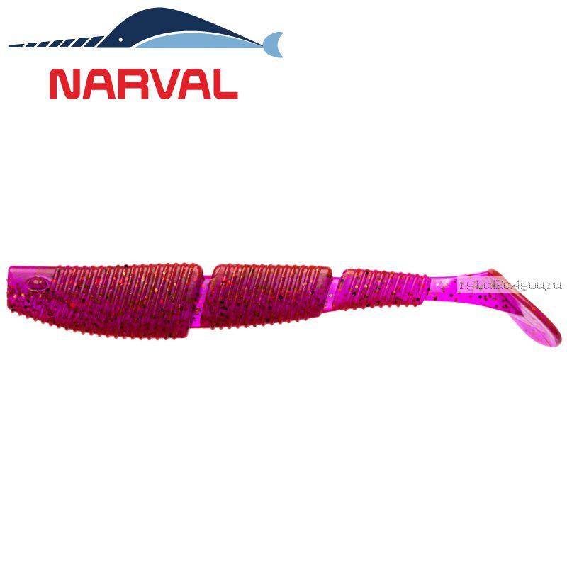 Купить Мягкие приманки Narval Complex Shad 10sm #003 Grape Violet (4 шт в уп)