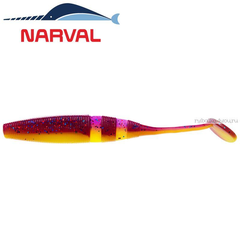 Купить Мягкие приманки Narval Loopy Shad 15sm #007 Purple Spring (3 шт в уп)