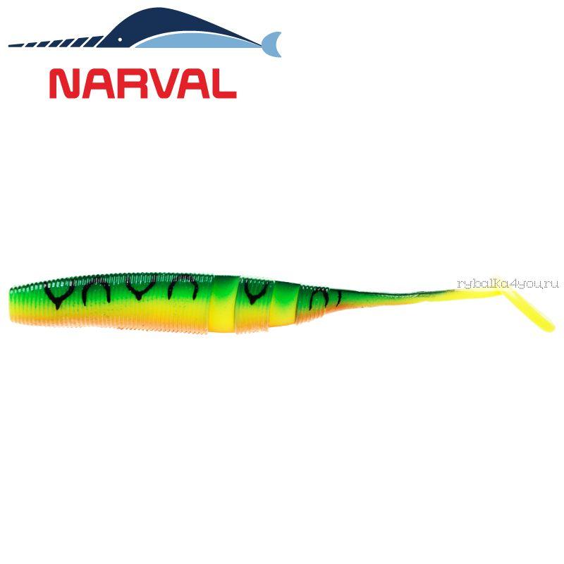 Купить Мягкие приманки Narval Loopy Shad 15sm #006 Mat Tiger (3 шт в уп)