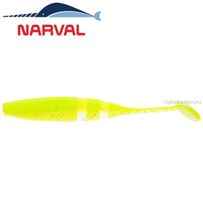 Купить Мягкие приманки Narval Loopy Shad 15sm #004 Lime Chartreuse (3 шт в уп)