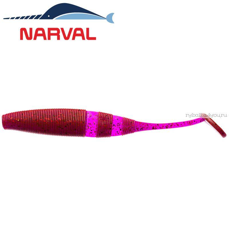 Купить Мягкие приманки Narval Loopy Shad 15sm #003 Grape Violet (3 шт в уп)
