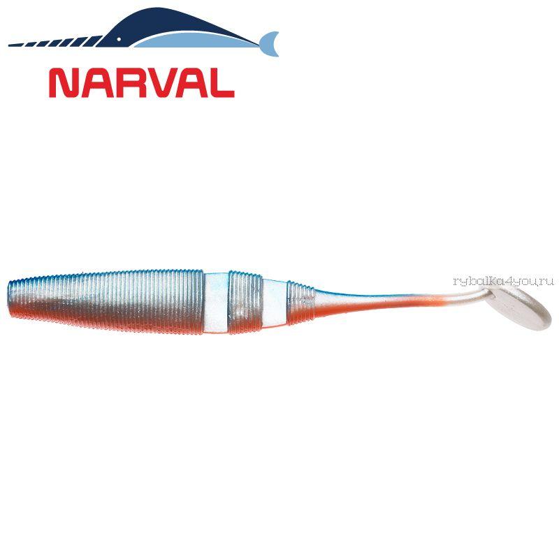 Купить Мягкие приманки Narval Loopy Shad 15sm #001 Blue Back Shiner (3 шт в уп)
