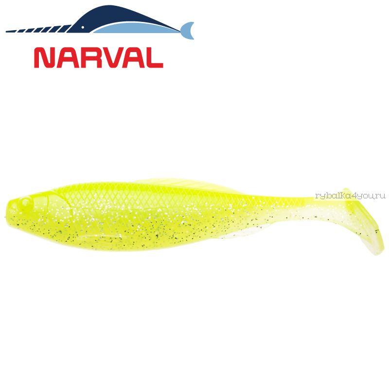 Купить Мягкие приманки Narval Troublemaker 10sm #004 Lime Chartreuse (5 шт в уп)