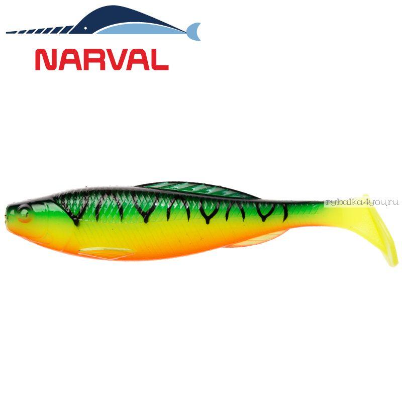 Купить Мягкие приманки Narval Troublemaker 10sm #006 Mat Tiger (5 шт в уп)