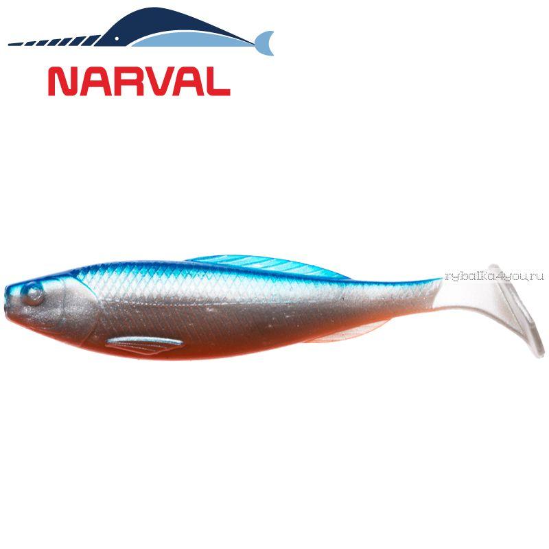 Купить Мягкие приманки Narval Troublemaker 10sm #001 Blue Back Shiner (5 шт в уп)