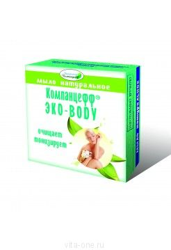 Мыло натуральное ЭКО-BODY Компанцефф 95 г