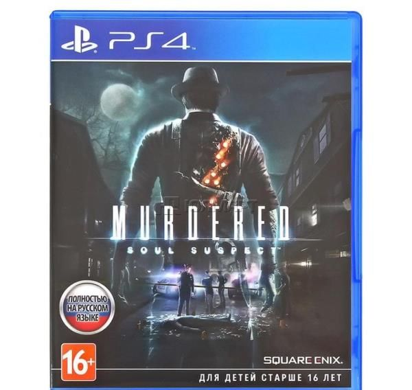Игра Murdered Soul Suspect (PS4)