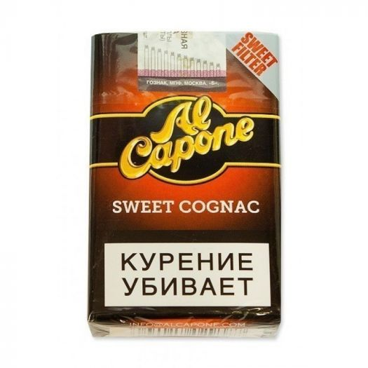 Сигариллы Al Capone Sweet Cognac Filter