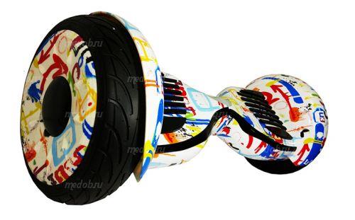 Гироскутер Smart Balance PRO PREMIUM 10.5 V1 (+AUTOBALANCE, + TAO TAO MOBILE APP) Граффити белый