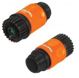 Коннекторы для шланга быстрозащелкивающиеся TRUPER CLICK-SET 12728