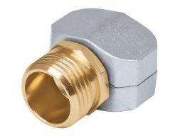 Коннектор соединительный 5/8-3/4 , метал, наружная резьба TRUPER 17298