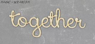 """Чипборд """" Together"""""""
