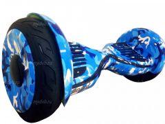 Гироскутер Smart Balance PRO PREMIUM 10.5 V1 (+AUTOBALANCE, +MOBILE APP) Камуфляж синий