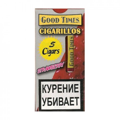 Сигариллы Good Times cigarillos Strawberry