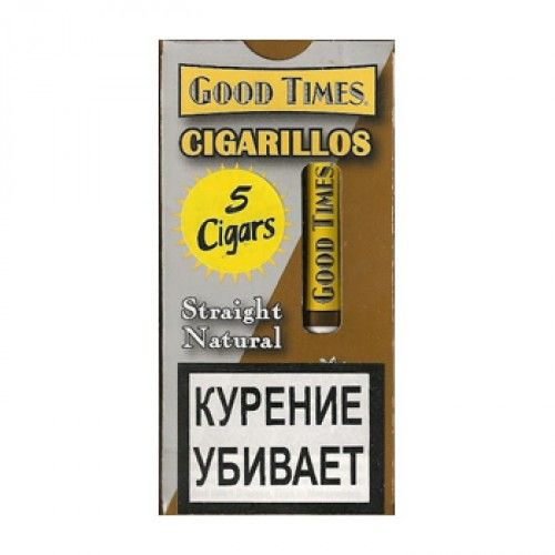Сигариллы Good Times cigarillos natural