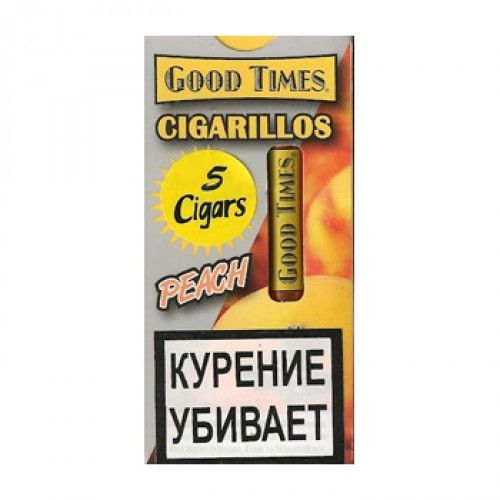 Сигариллы Good Times cigarillos Peach