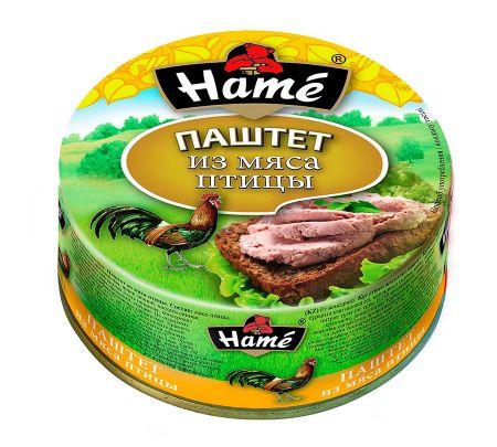"""Паштет """"Хаме"""" из мяса птицы 117г"""