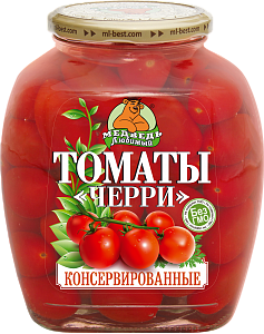 """Томаты Черри премиум """"Медведь любимый"""" ст/б 1500м"""