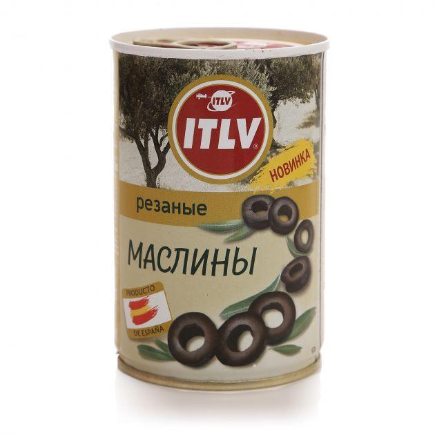 Маслины резаные 314мл