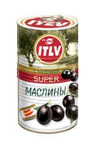 Маслины черные Super с/к 370мл