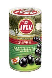 Маслины черные Super б/к 370мл