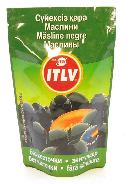 Маслины черные б/к  (дой-пак) 170мл