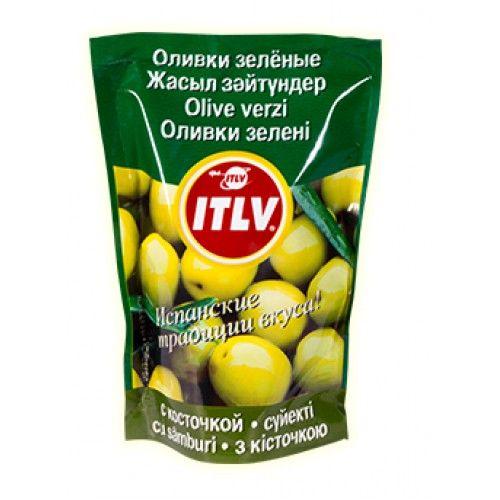 Оливки зеленые с/к  (дой-пак) 195мл