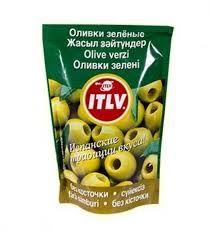 Оливки зеленые б/к  (дой-пак) 195мл