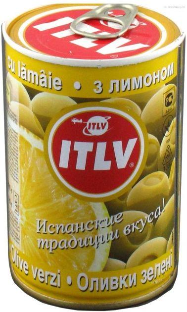 Оливки зеленые с лимоном 314мл