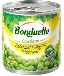 """Зеленый горошек """"Бондюэль"""" 212мл"""