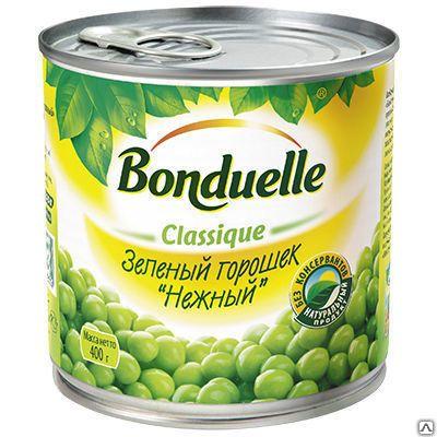 """Зеленый горошек """"Бондюэль"""" 425мл"""
