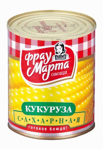 Кукуруза Фрау Марта 310г