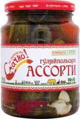 Ассорти гуляйпольское мариновонное стерил.ст/б 1500мл