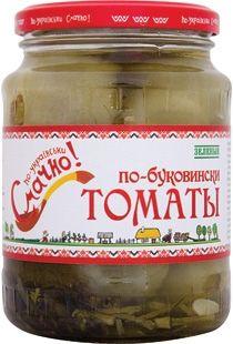 Томаты зеленые марин.по-буковински стерил.ст/б 720мл