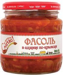 Фасоль в аджике по-крымски стерил. ст/б 480мл