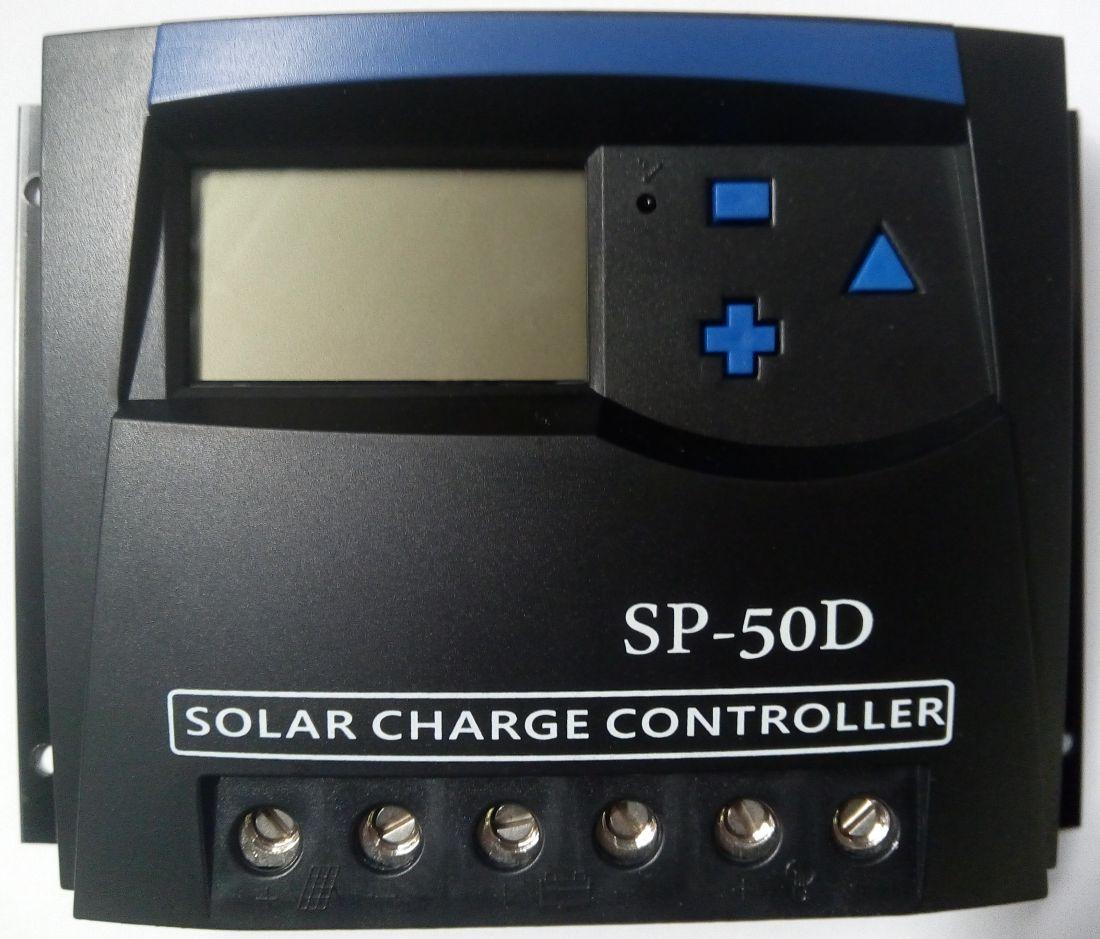 Контроллер Мiка SP 50D, 50A 12V/24V