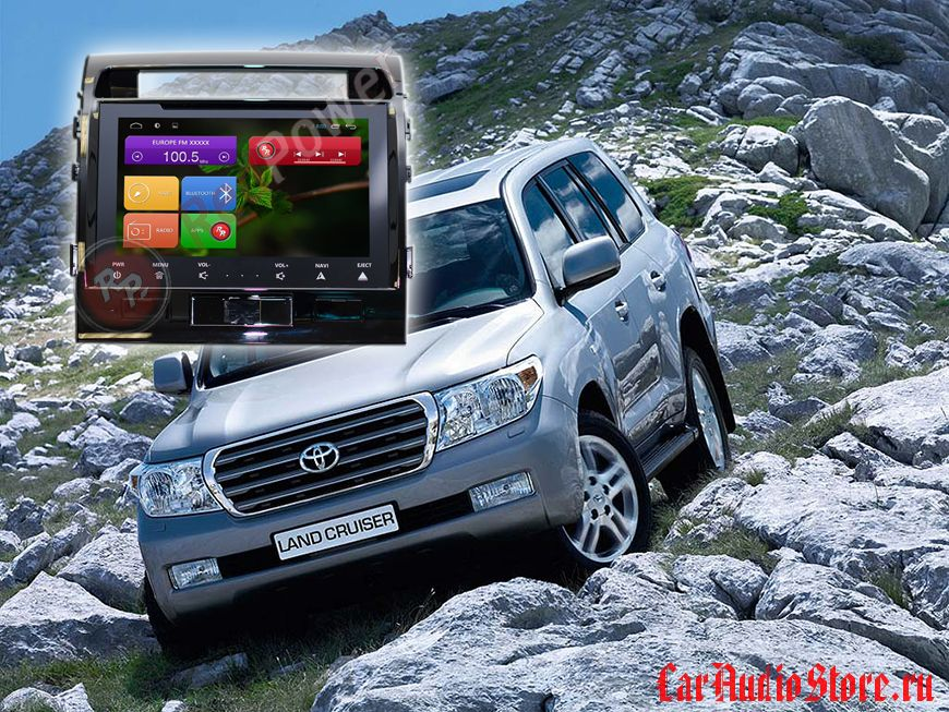 Redpower 21200B IPS Toyota Land Cruiser 200 (c DVD приводом) (до 2014 г)