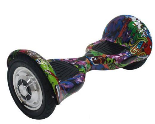 Гироскутер Smart Balance SUV 10 самобаланс Хип Хоп фиолетовый