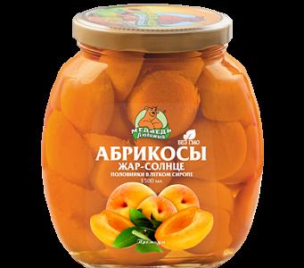 """Абрикосы Жар-солнце """"Медведь любимый"""" ст/б 1500м"""