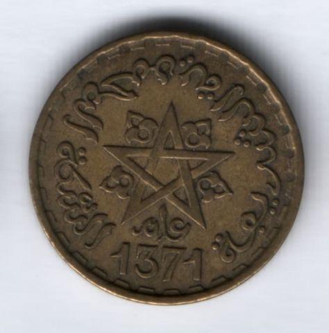 20 франков 1952 (1371) г. Марокко