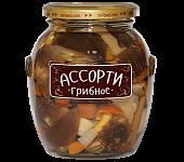 """Ассорти грибное """"Медведь любимый"""" ст/б 580мл"""