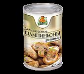 """Шампиньоны резаные """"Медведь любимый"""" ж/б 425мл"""