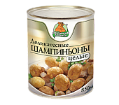 """Шампиньоны целые """"Медведь любимый"""" ж/б 850мл"""