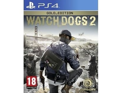 Игра Watch Dogs 2 Gold Edition (PS4)