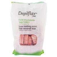 DepilFlax горячий воск для депиляции розовый, 1000 г