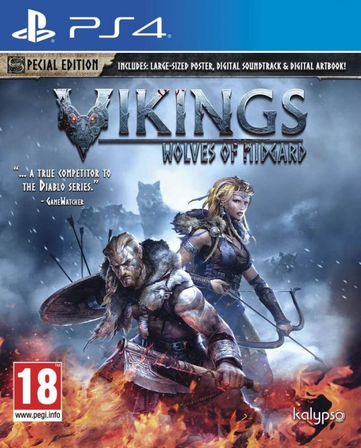 Игра Vikings Wolves of Midgard. Special Edition (PS4)
